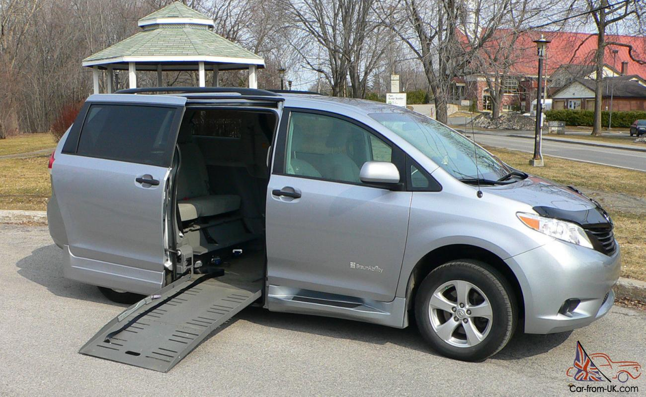 Toyota Sienna 2010-2018 Owners Manual: Vehicle exterior