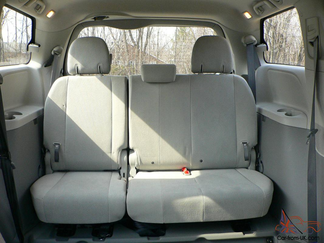 Toyota Sienna 2010-2018 Owners Manual: Air conditioning controls