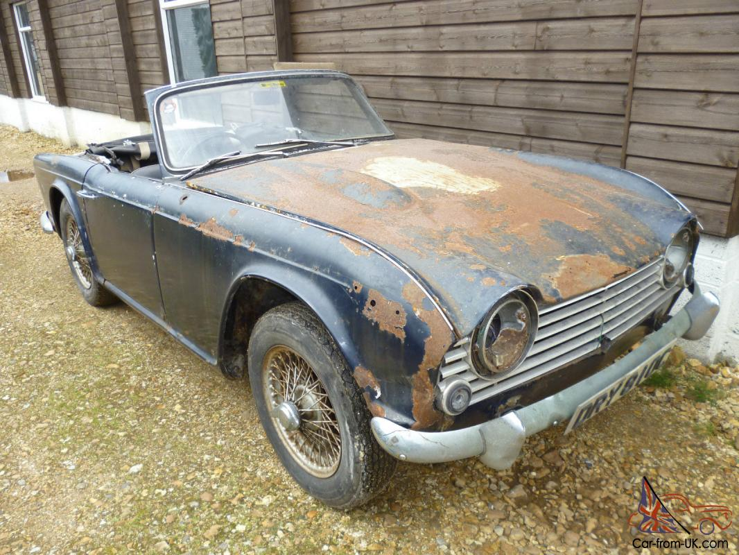 Triumph Tr4a Irs 1965 34974 Miles 2 Owners For Restoration