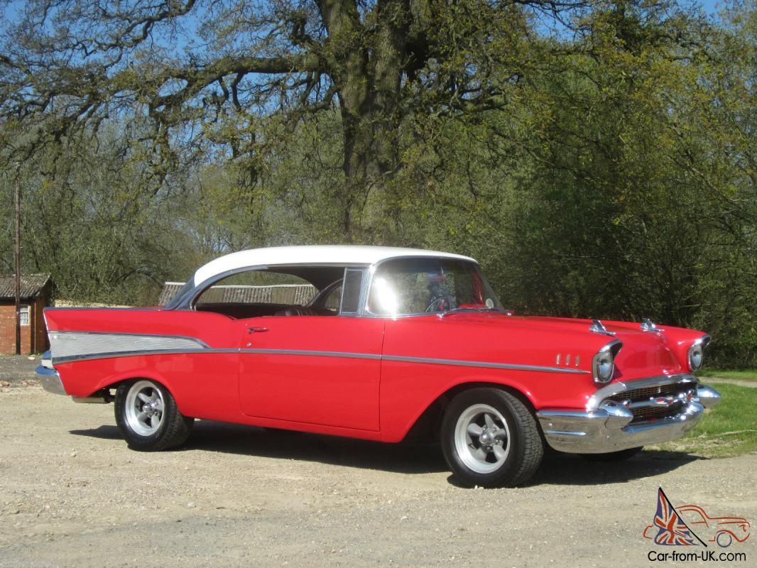 classic american 1957 chevrolet v8 belair pillarless sport. Black Bedroom Furniture Sets. Home Design Ideas