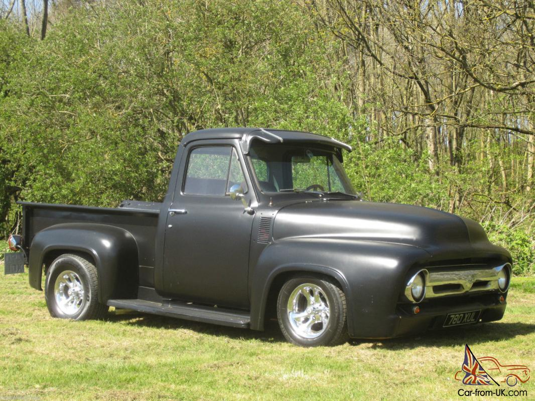Classic American Hot Rod 1953 Ford F100 Pickup