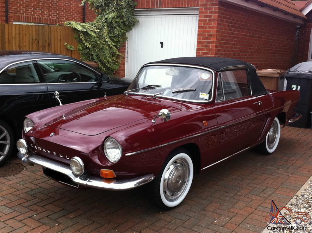1968 renault caravelle fully restored softtop and hardtop included. Black Bedroom Furniture Sets. Home Design Ideas