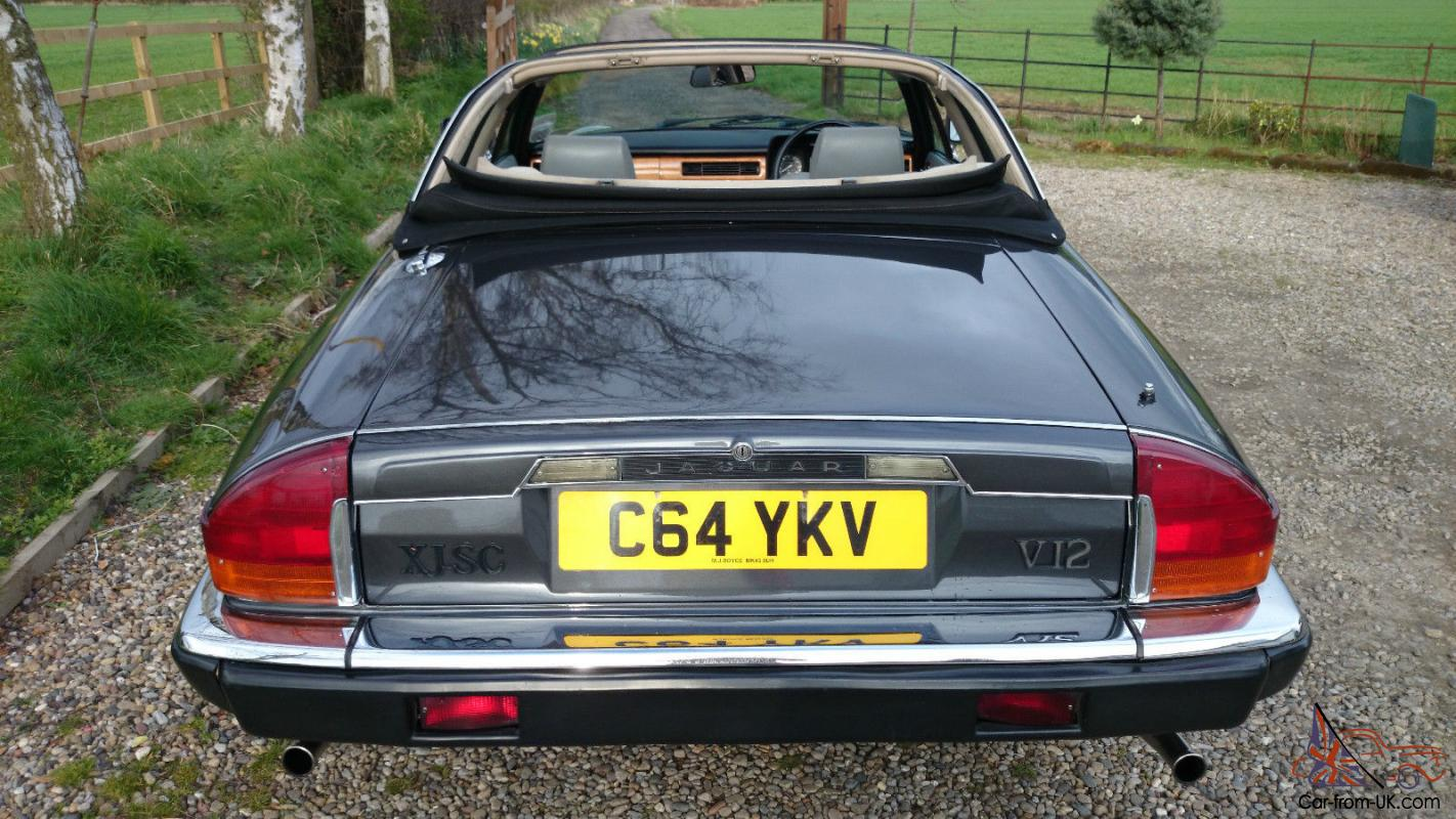 1986 Jaguar Xjs V12 Convertible Pictures To Pin On