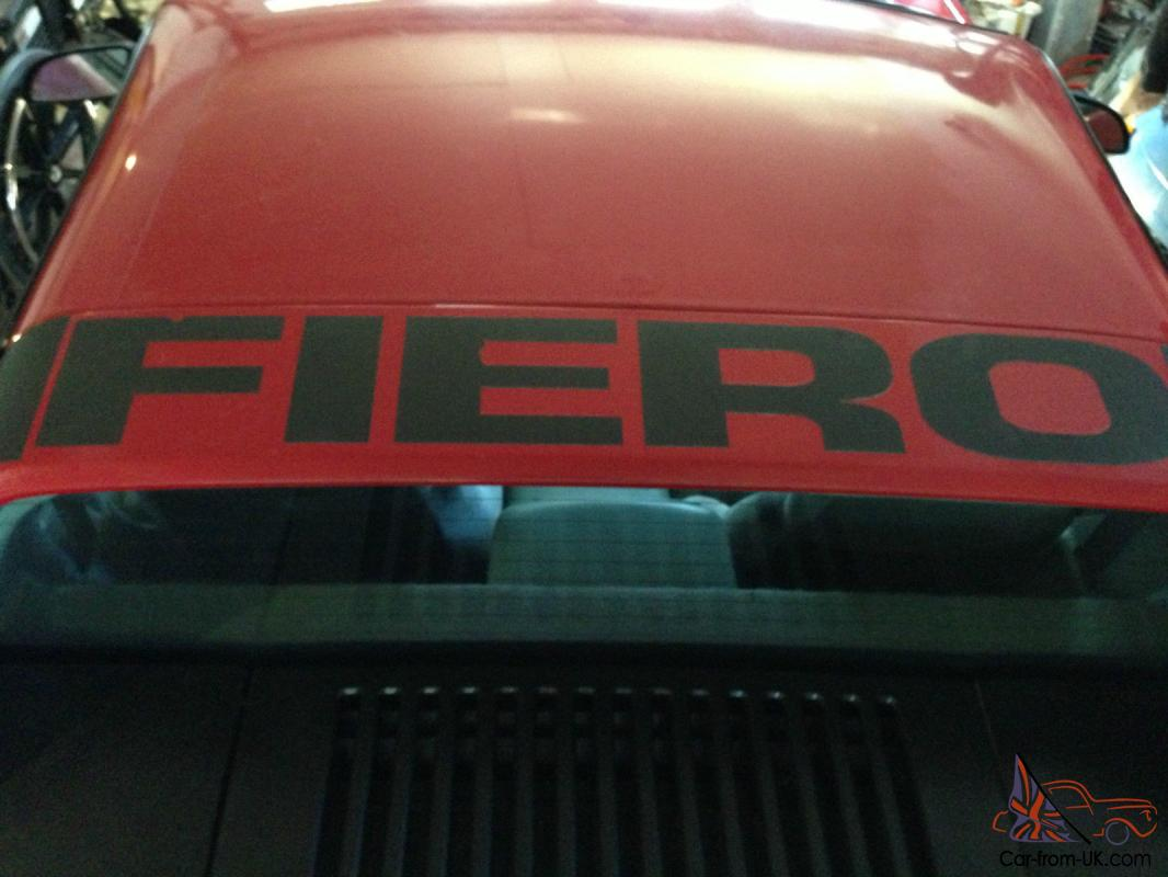 Pontiac Fiero 2m4 Fuel Filter Location
