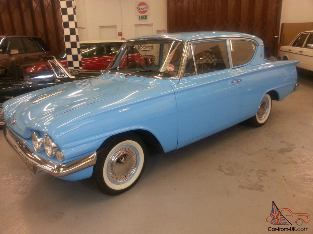 ford consul 315 classic 2 door stunning condition rare 1500 engine 1962. Black Bedroom Furniture Sets. Home Design Ideas