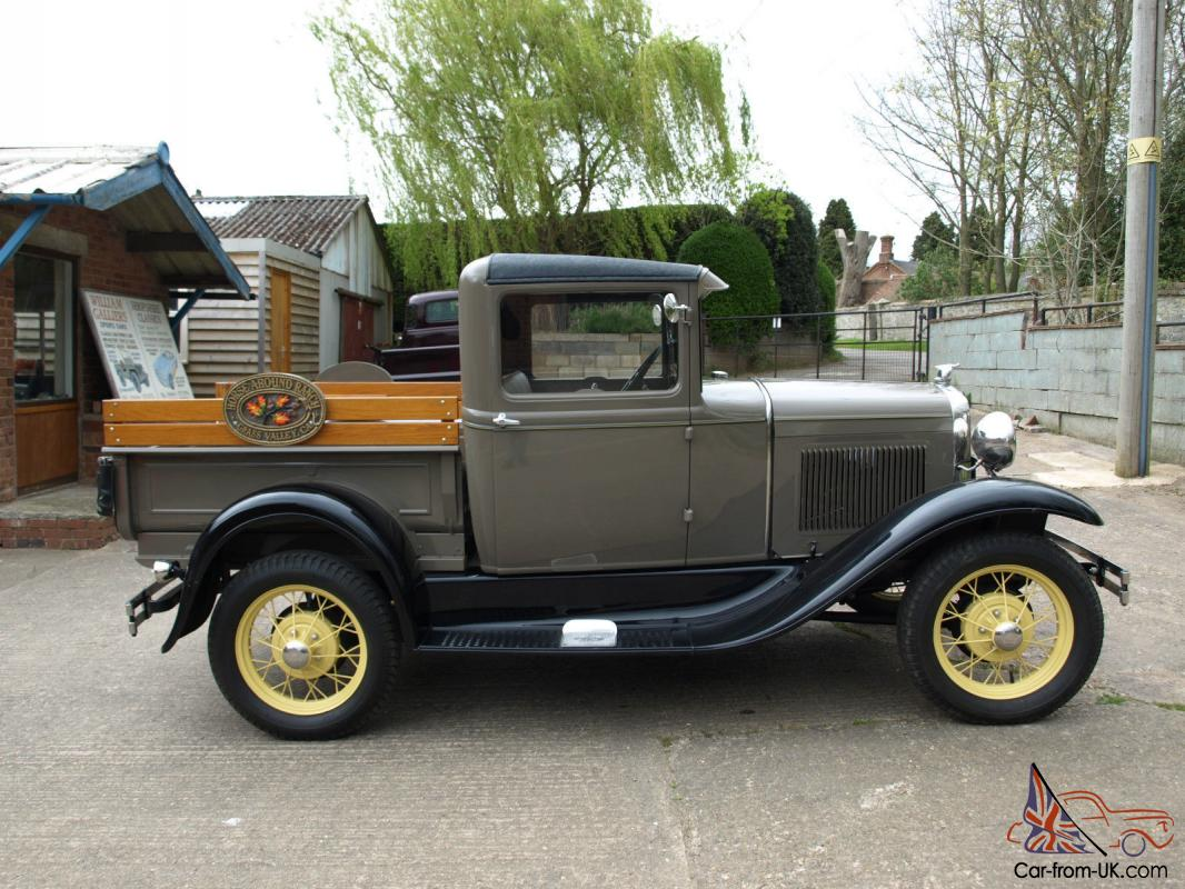 model A pickup pick up 1931 vintage classic American collectors ...