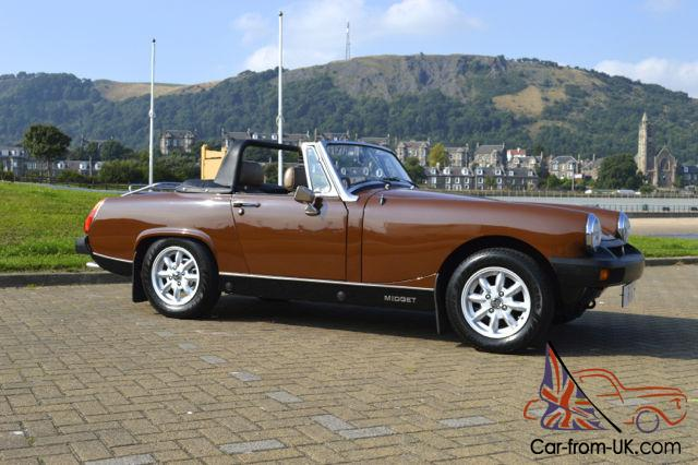 mg midget owners