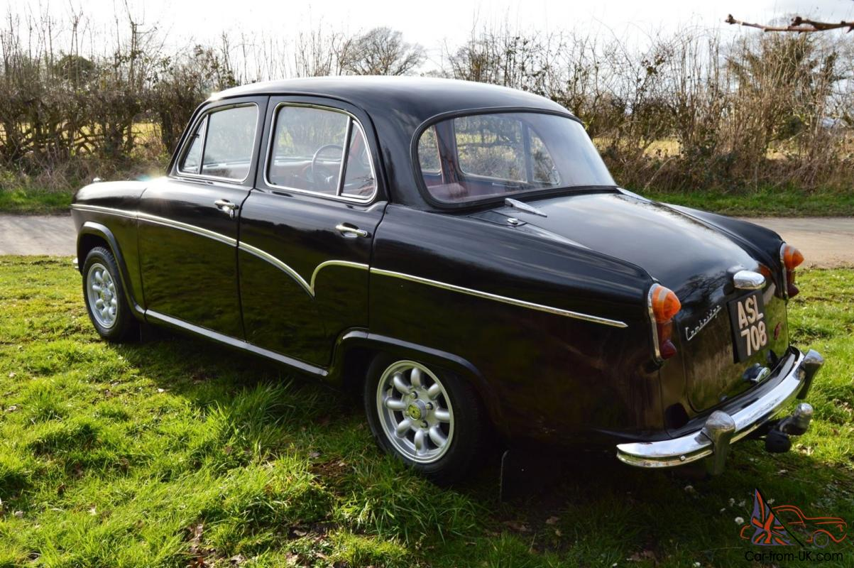 British Classic Austin A55 Cambridge Mk1 Retro 50s Rare Car 1960 Pontiac Wiring Diagram