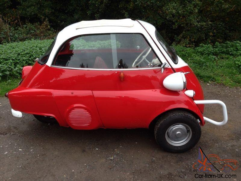 BMW ISETTA BUBBLE CAR LHD 1956 FULLY RESTORED 3 WHEEL 1957 MODEL