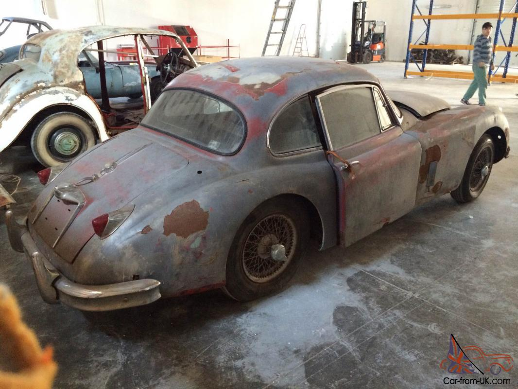 Jaguar XK150 Fixed Head Coupe 1958 LHD Barn Find