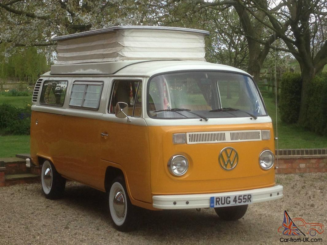 1977 vw camper devon rhd uk model 1600 type 2 t2 lovely. Black Bedroom Furniture Sets. Home Design Ideas