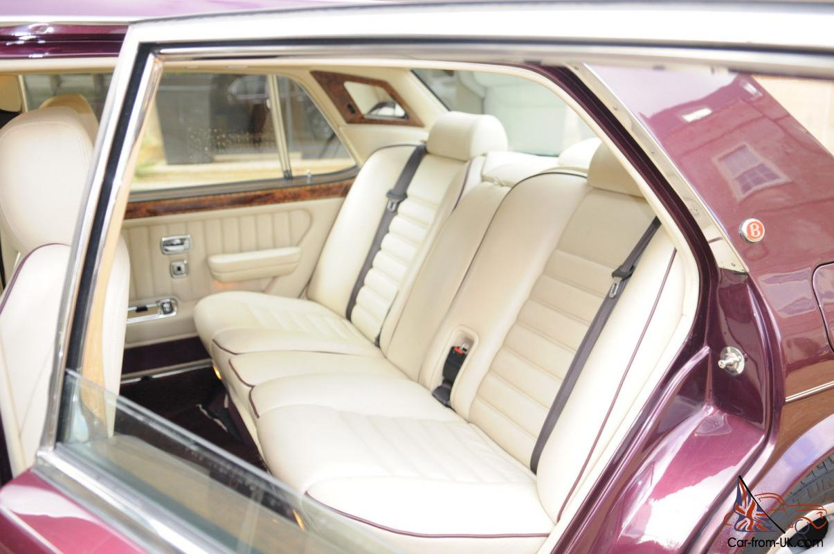 1997 bentley turbo rt in wildberry with cream leather interior. Black Bedroom Furniture Sets. Home Design Ideas
