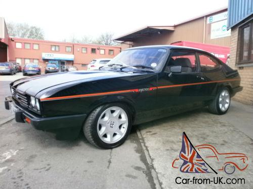1983 a reg ford capri 2 8i injection only 89 000 miles. Black Bedroom Furniture Sets. Home Design Ideas