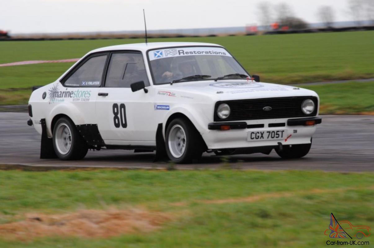 Ford Escort Mk2 2.0 Pinto Rally Car
