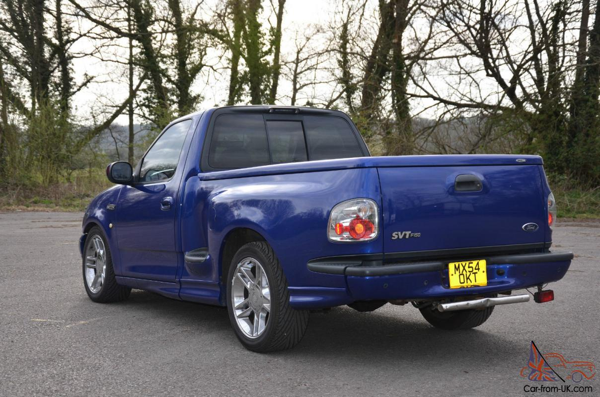 Ford F150 Lightning 54 Supercharged V8 Auto Sonic Blue Plate Swap Swop Px