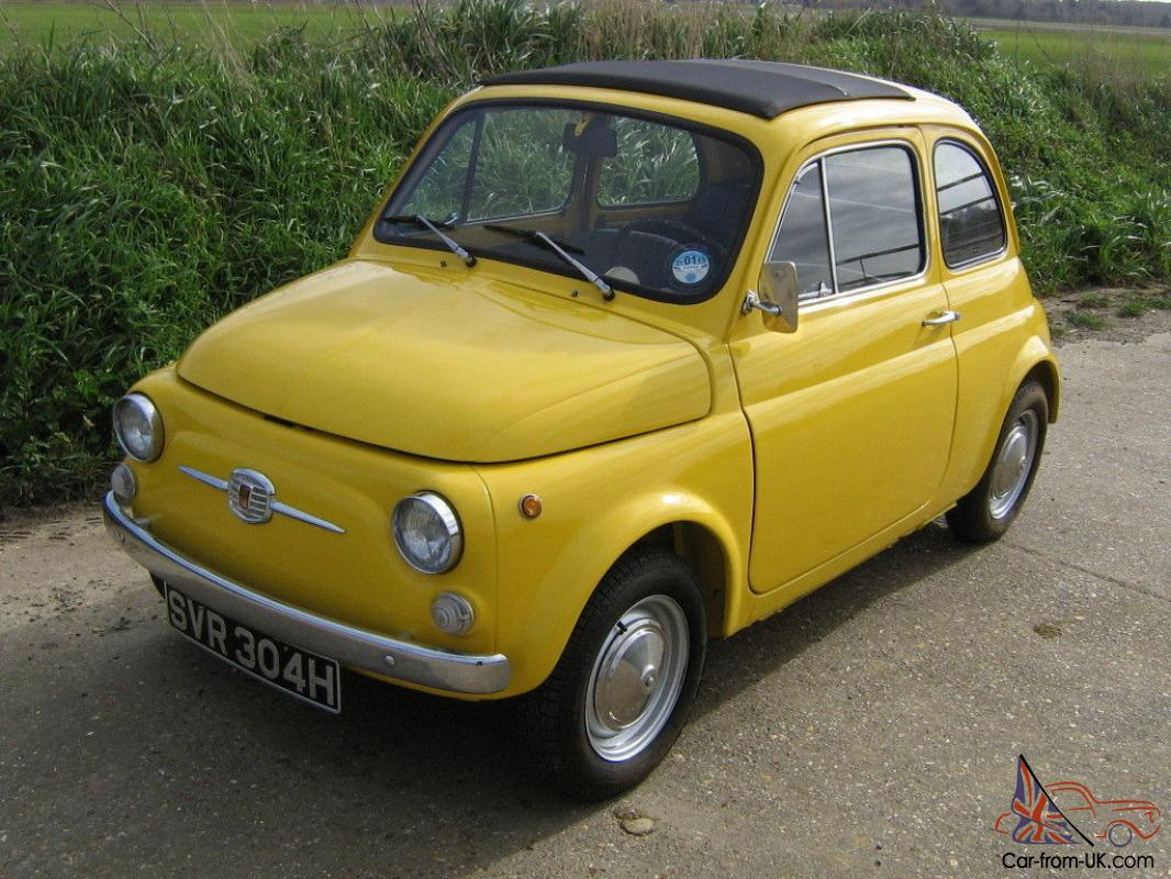 fiat 500f genuine italian car fully restored uk registered 1970 h reg. Black Bedroom Furniture Sets. Home Design Ideas