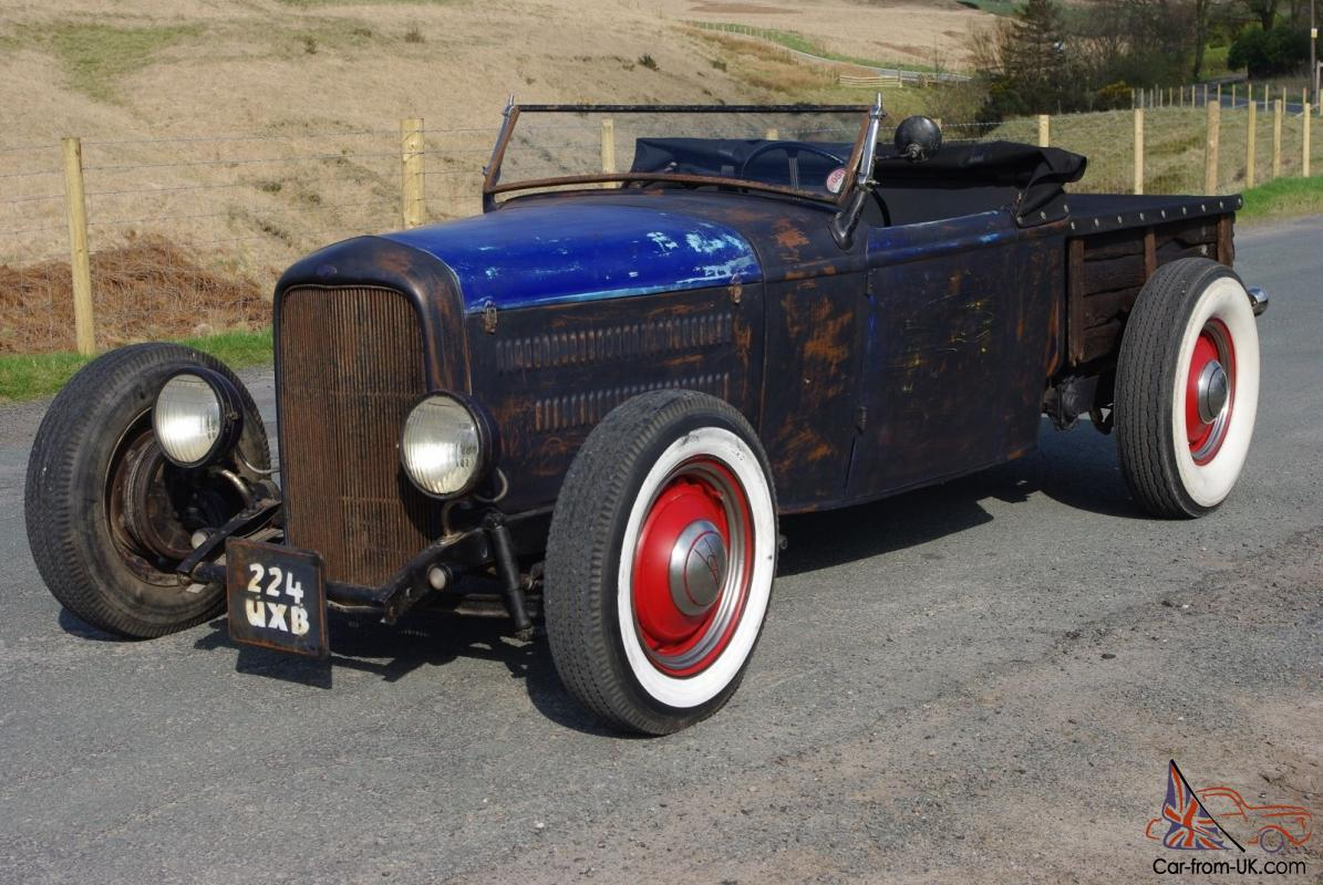 1932 ford roadster pickup hot rod rat rod volksrod vw beetlekitcar replica