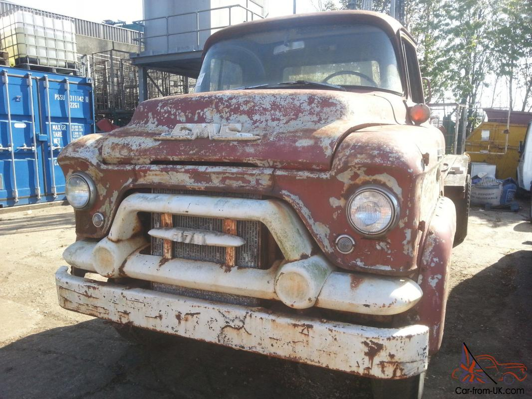 GMC SNUB NOSE COE STEPSIDE AMERICAN TRUCK RETRO RAT ROD CAB OVER BARN FIND