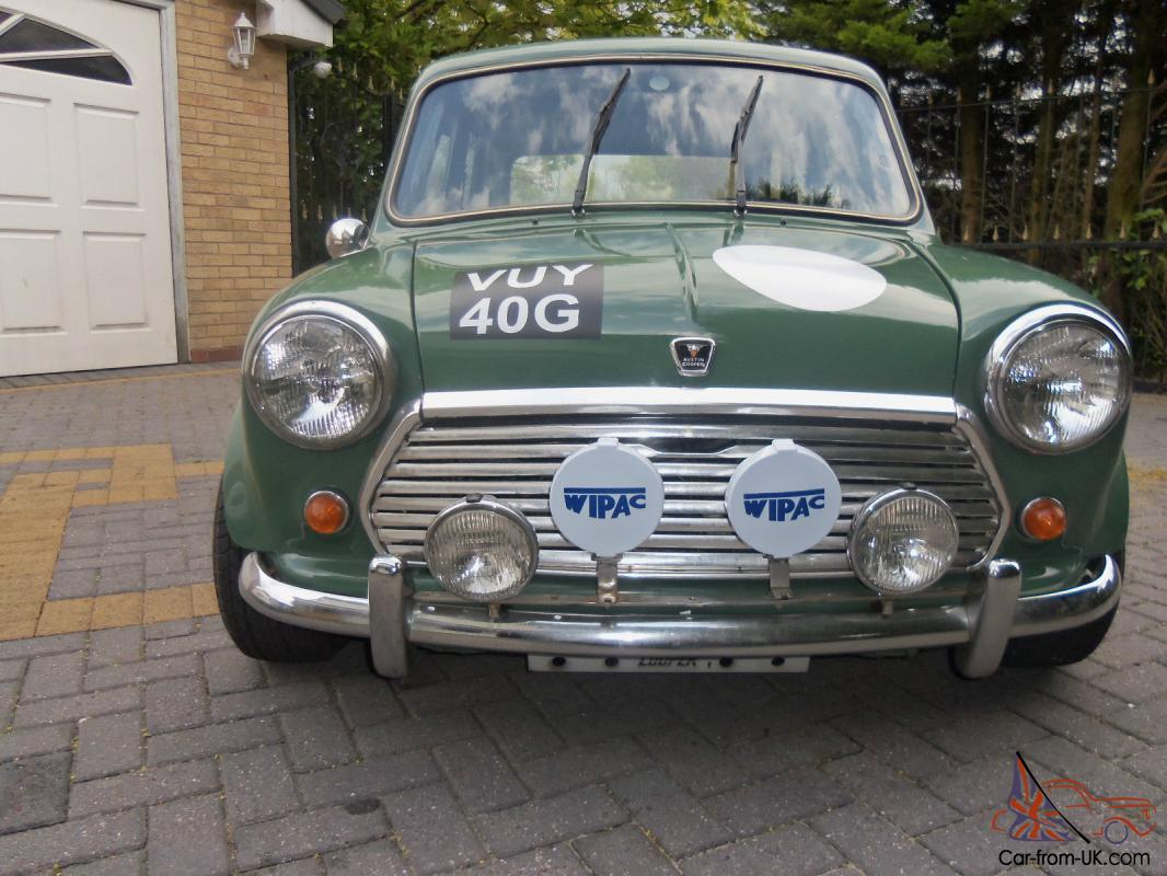 MINI COOPER RALLY CAR 1968, NOT A TOY A SUPERB REAL RALLY CAR, WORKS ...