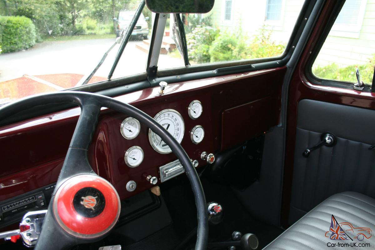 1955 willys pickup truck 4wd new paint interior some mechanicals. Black Bedroom Furniture Sets. Home Design Ideas