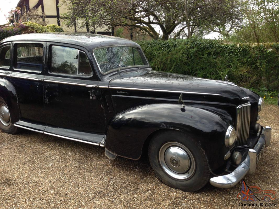 Limo For Sale >> 1951 Humber Pullman Limousine, Completely original 29,000 miles, 3 owners