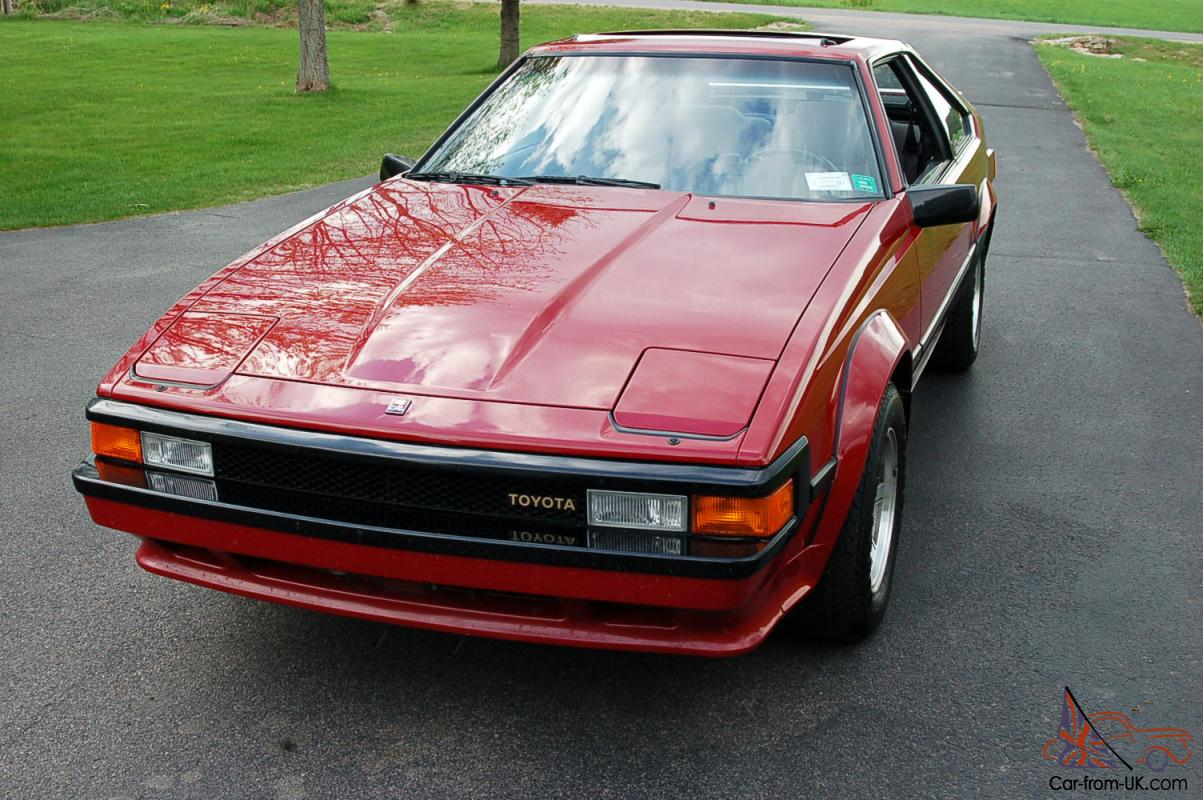 1985 toyota supra only 42 000 miles mint cond. Black Bedroom Furniture Sets. Home Design Ideas