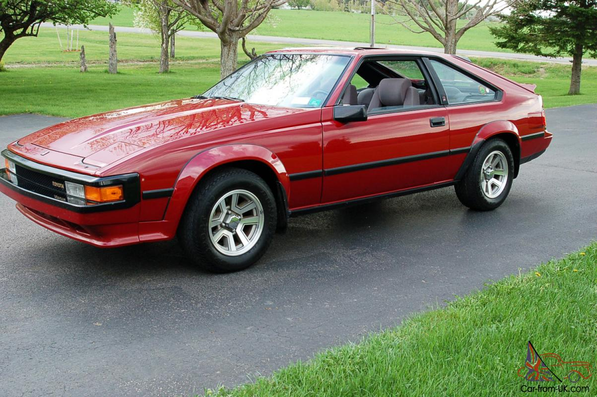 1985 Toyota Supra Only 42 000 Miles Mint Cond