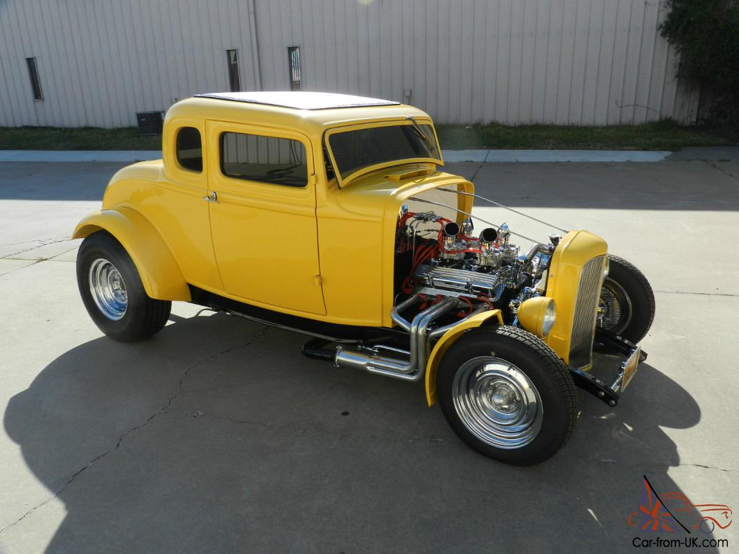 1932 yellow 5 window coupe. Black Bedroom Furniture Sets. Home Design Ideas