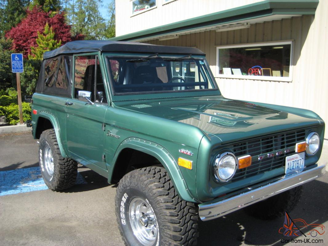 Bronco sport fomoco bronco72 bronco 4x4early bronco