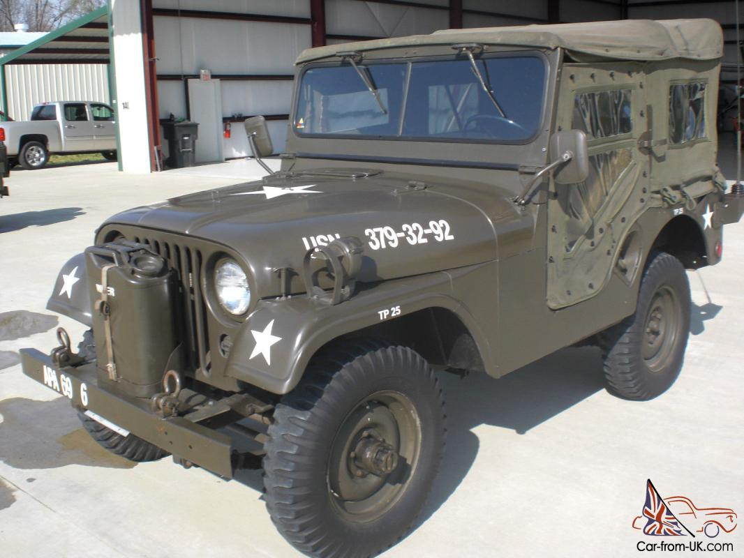 1954 Willys Army Jeep