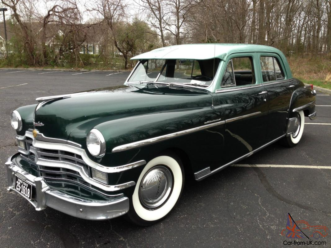 1949 Chrysler Windsor Series Base 41l Town Country