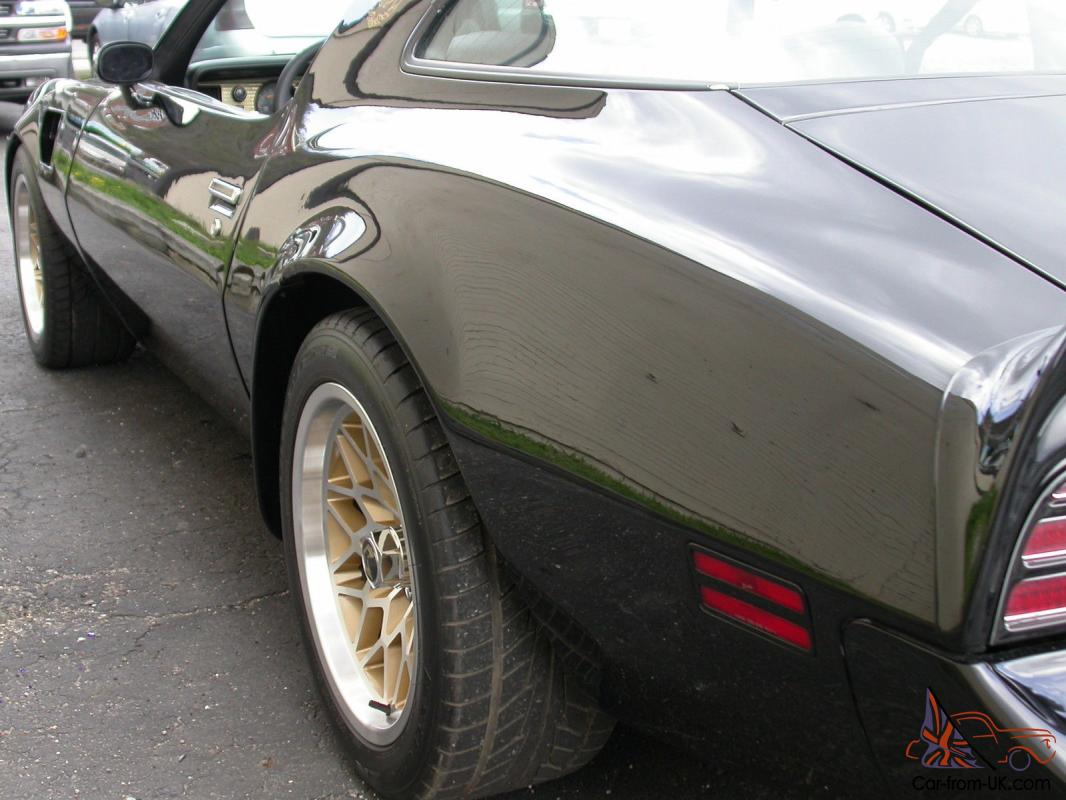 Gas Monkey 'Smokey and Bandit' 77 TransAm Burt Reynolds