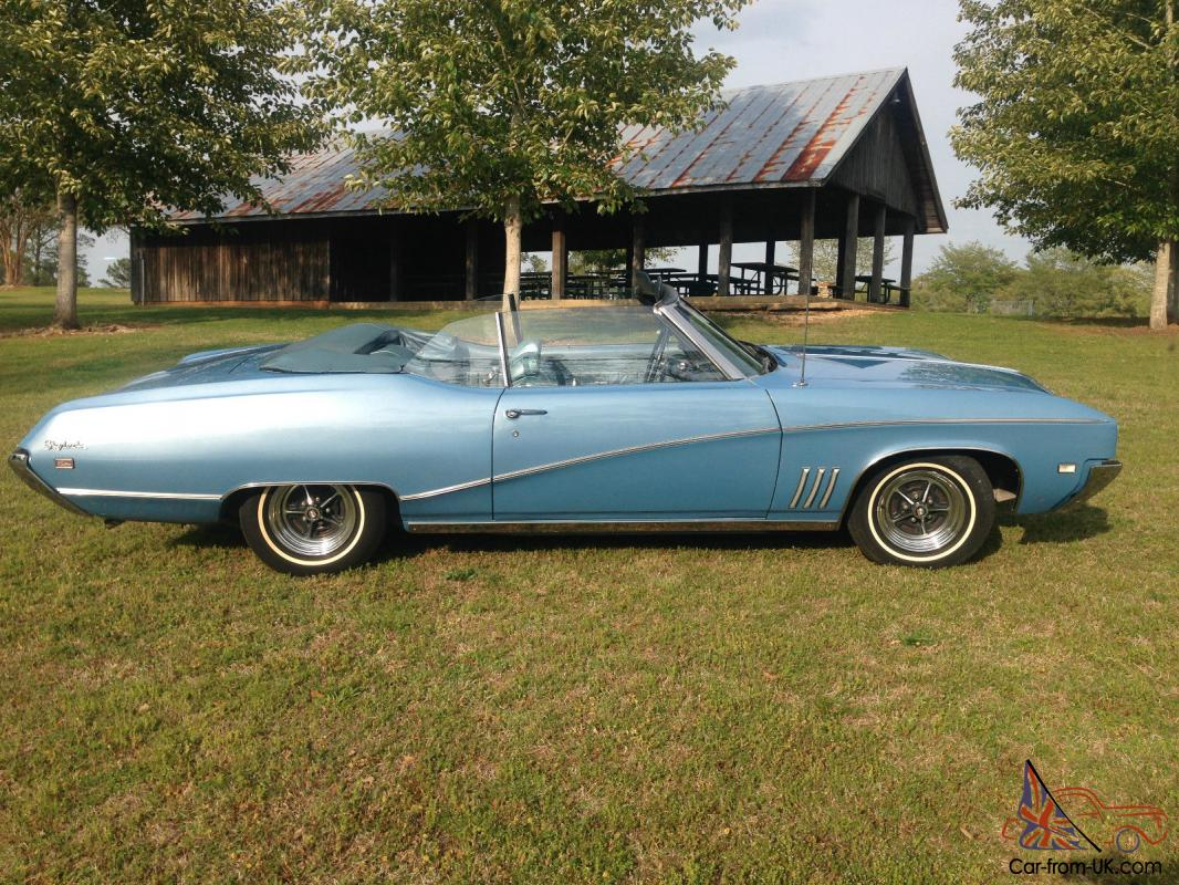 1969 Buick Skylark Convertible For Sale Pictures To Pin On