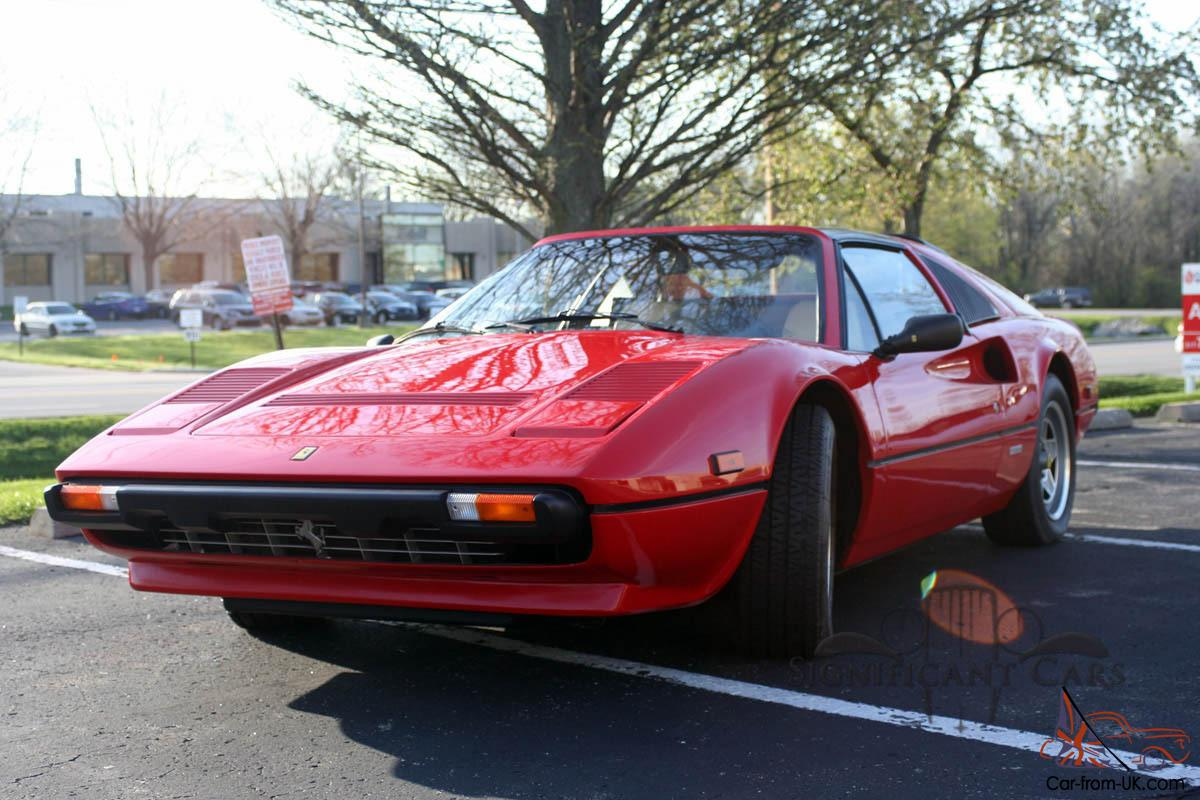 1984 ferrari 308 gts quattrovalvole spectacular example. Black Bedroom Furniture Sets. Home Design Ideas