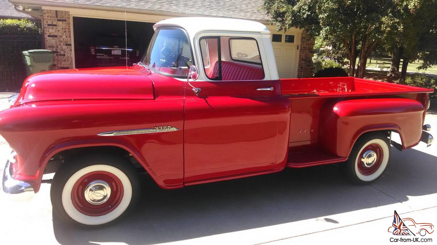 1955 chevrolet truck 3200 standard cab pickup 2 door 3 8l - 55 Chevy Truck Frame Off Period Correct Show Vehicle