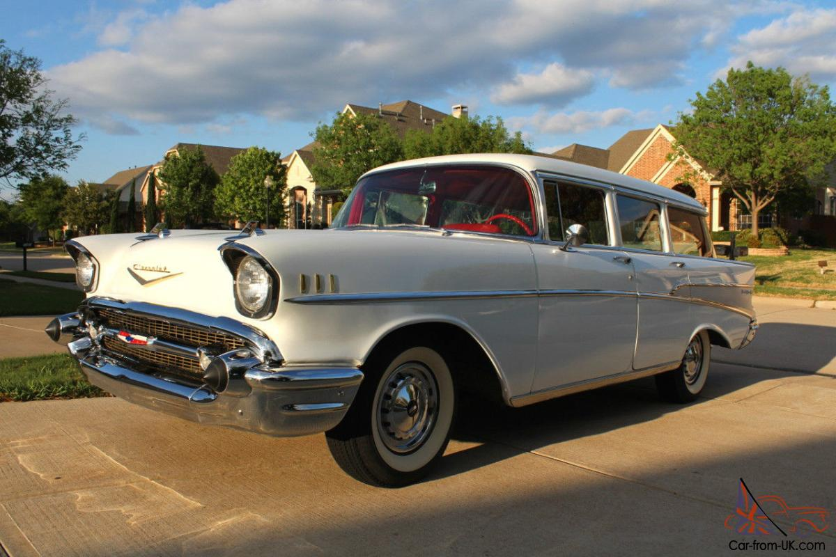 Chevy Bel Air 4 Door Frame Up Resto Wagon With A C 1957