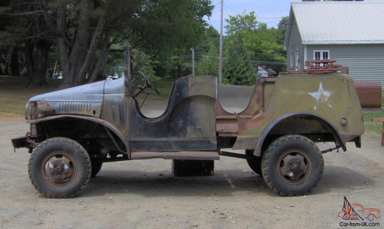 G505 wwii dodge wc 1 2 ton military truck