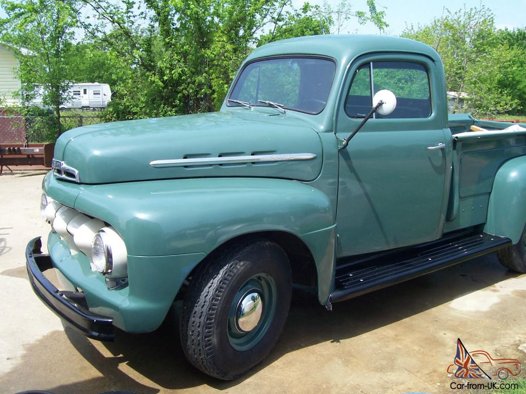 Ford Pickup F1 For Sale 1951 1953 Truck Images Of