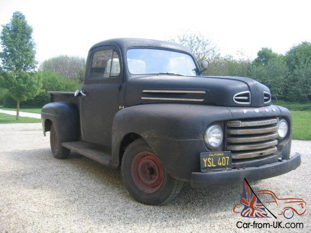 ford f1 stepside american pickup truck 1950. Black Bedroom Furniture Sets. Home Design Ideas