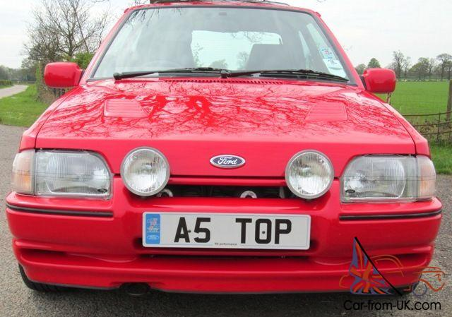 ford escort rs turbo  stunning showroom condition