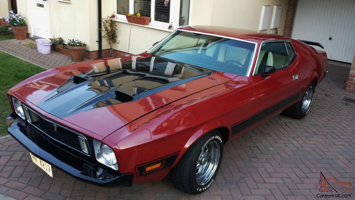 1973 ford mustang mach 1 351 v8 auto fastback. Black Bedroom Furniture Sets. Home Design Ideas