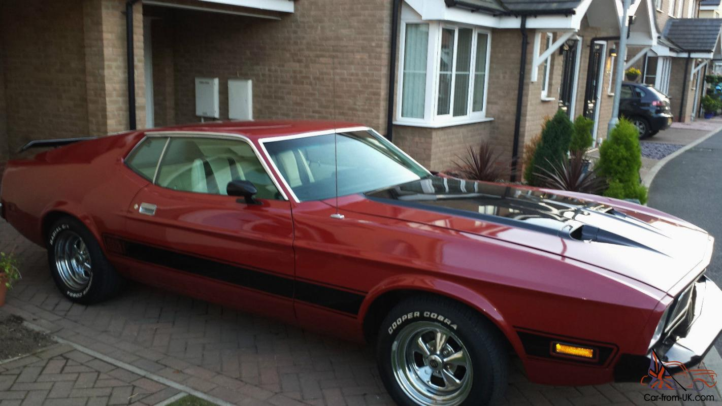 1973 ford mustang mach 1 351 v8 auto fastback