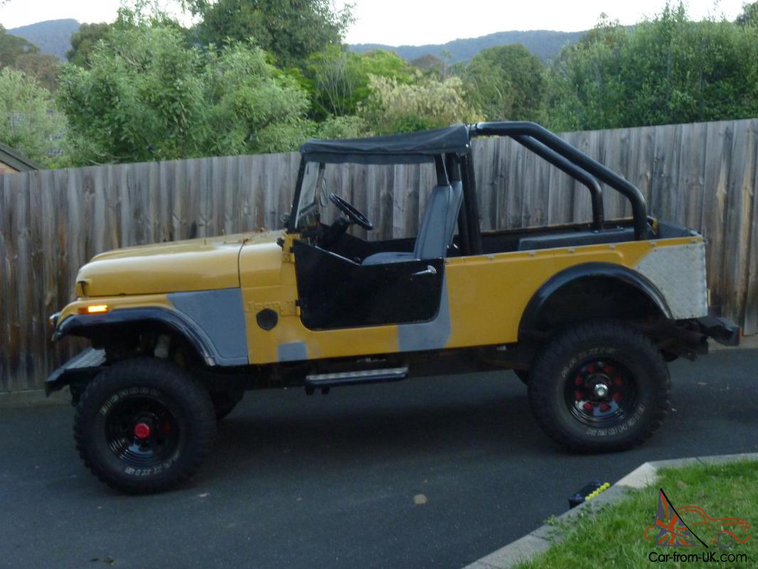 1974 cj6 jeep modified in boronia vic