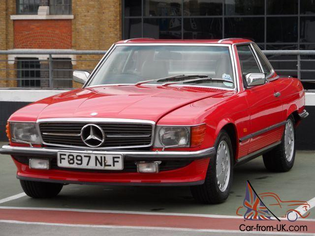 1988 mercedes benz sl500 r107 for Mercedes benz 500sl parts