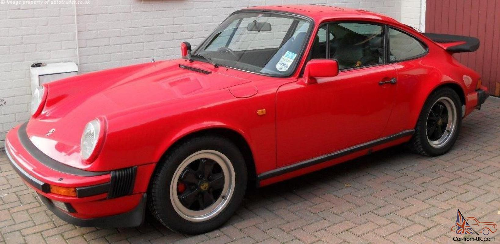 porsche 911 carrera 3 2 sport coupe 1984 superb condition throughout. Black Bedroom Furniture Sets. Home Design Ideas