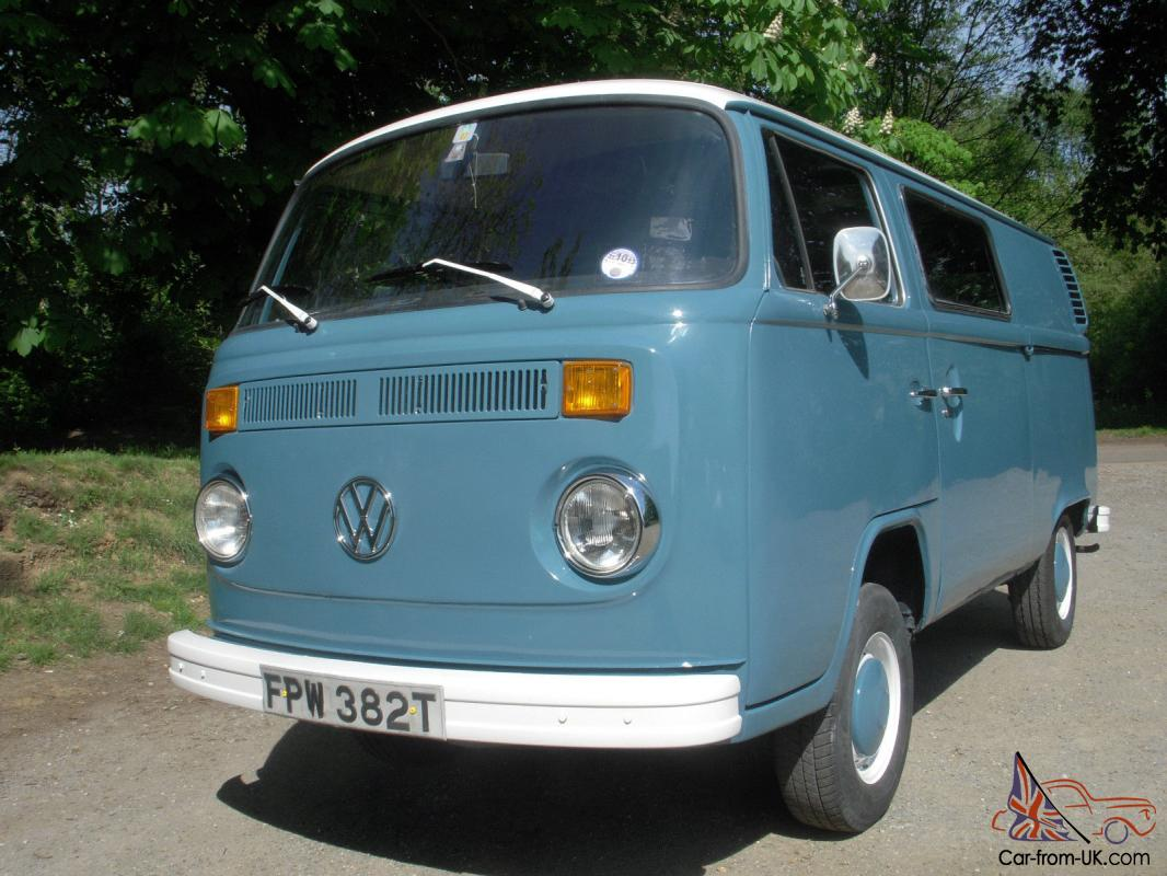 vw type 2 1979 camper panel van fantastic example. Black Bedroom Furniture Sets. Home Design Ideas