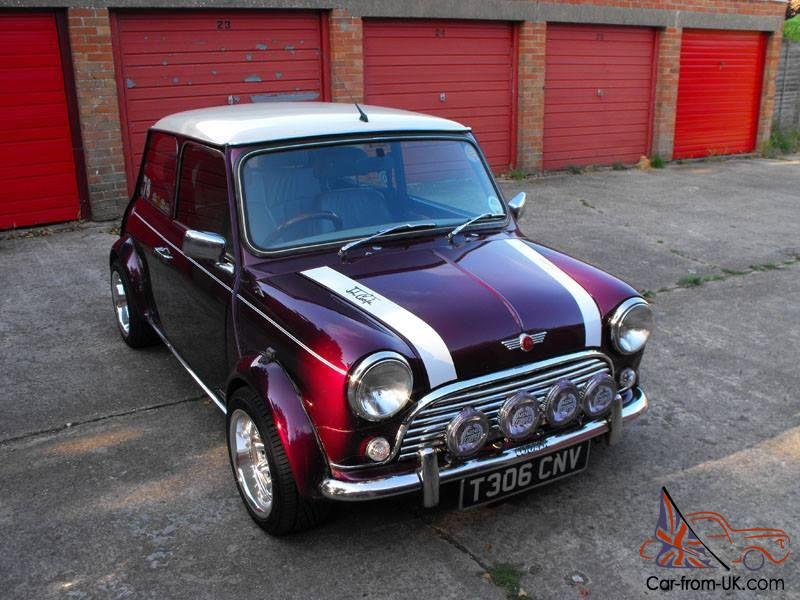1999 Rover Mini Cooper 1340mpi Rare Morello Purple