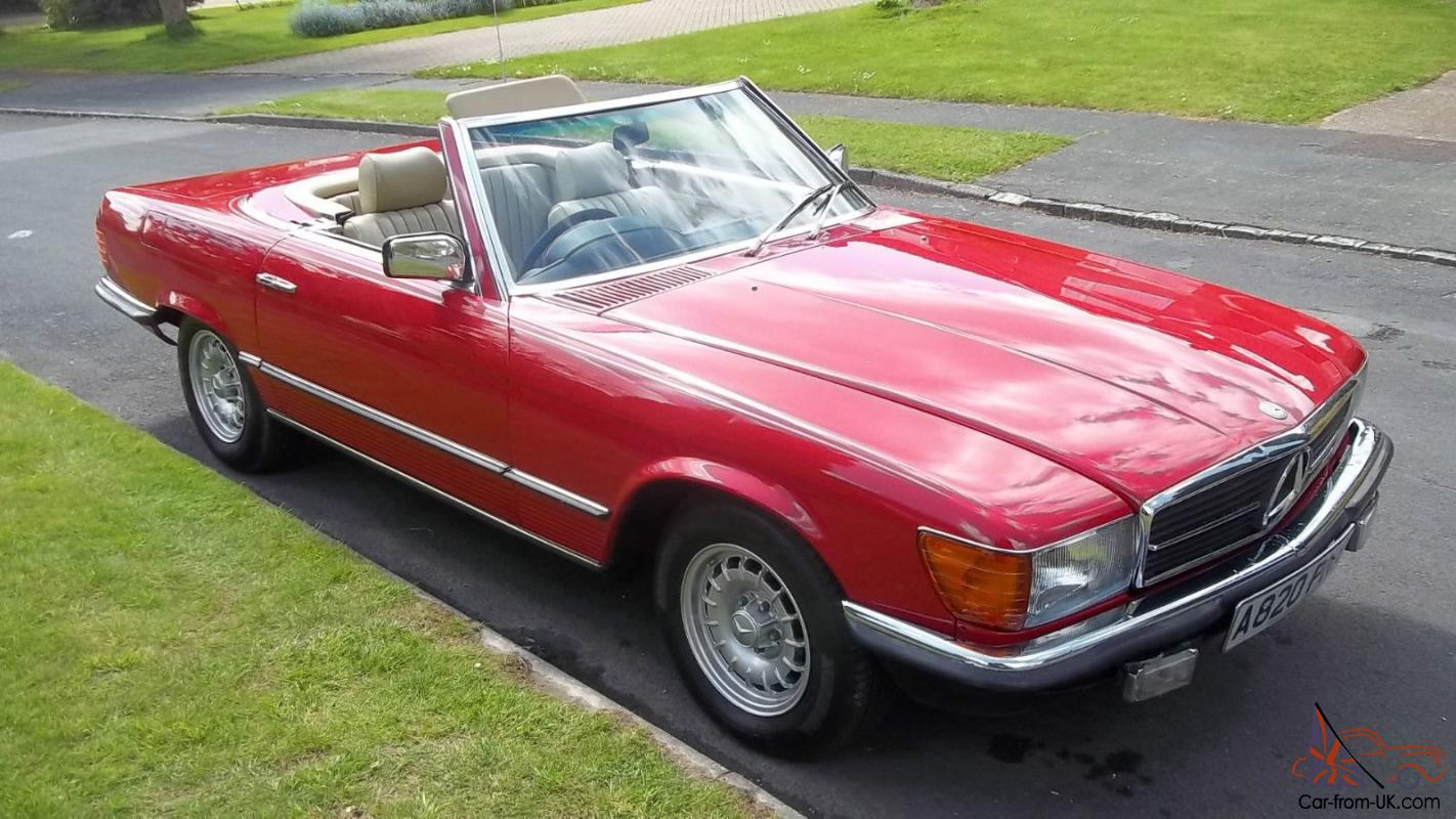 1983 a mercedes benz 280 sl r107 convertible auto 30000 miles. Black Bedroom Furniture Sets. Home Design Ideas