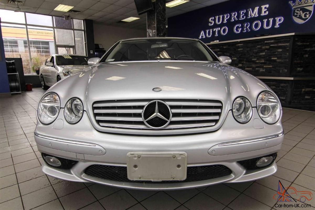 Mercedes benz cl class cl55 amg for Mercedes benz cl55 amg price
