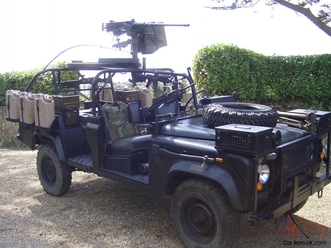 Used Land Rovers For Sale >> US Army Ranger Special Operations Vehicle Land Rover 110 defender RSOV